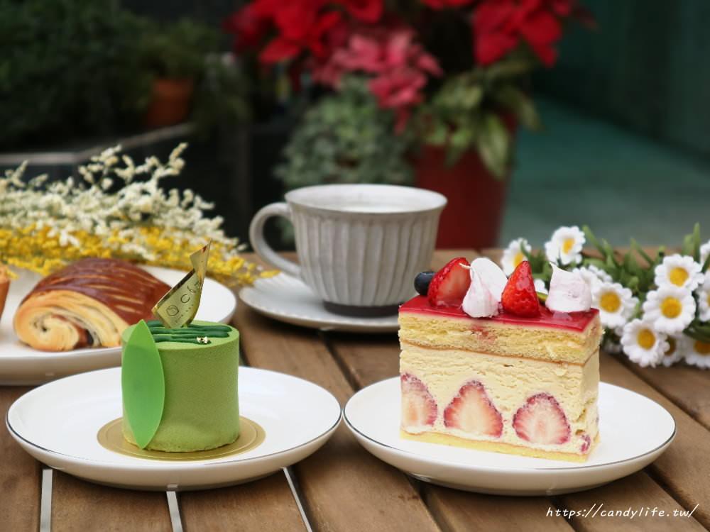台中美食│蜜柑。法式甜點。麵包。〃結合烘焙坊的老宅甜點店,近勤美綠園道~