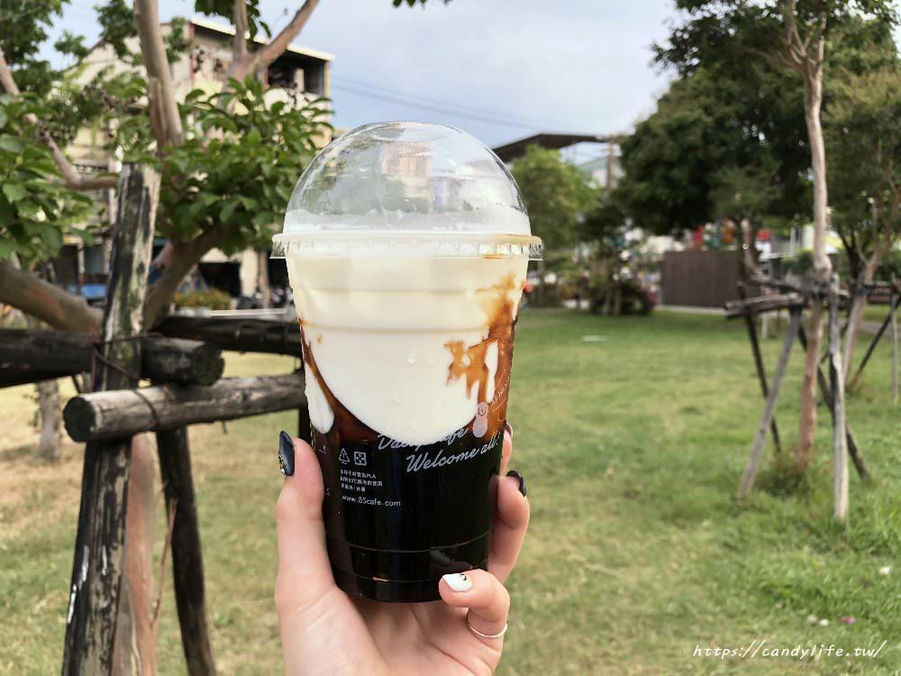 20180504215507 35 - 台中美食│85度C〃黑糖珍珠鮮奶開賣啦!每日限量~黑糖珍奶迷們快來衝一波!