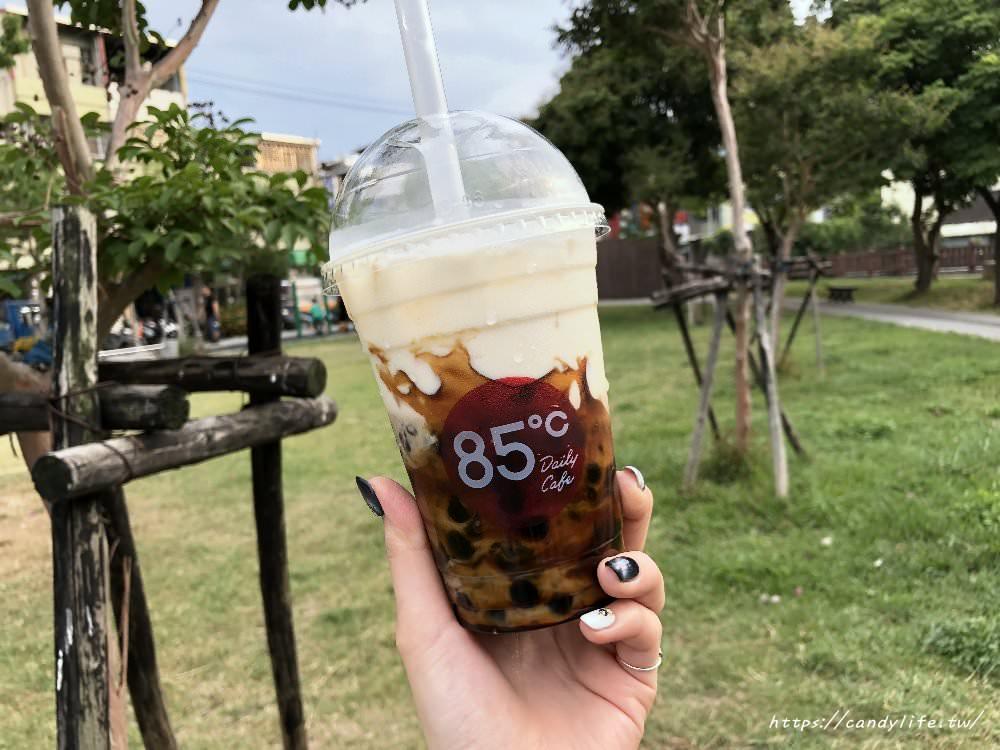 20180504215508 26 - 台中美食│85度C〃黑糖珍珠鮮奶開賣啦!每日限量~黑糖珍奶迷們快來衝一波!