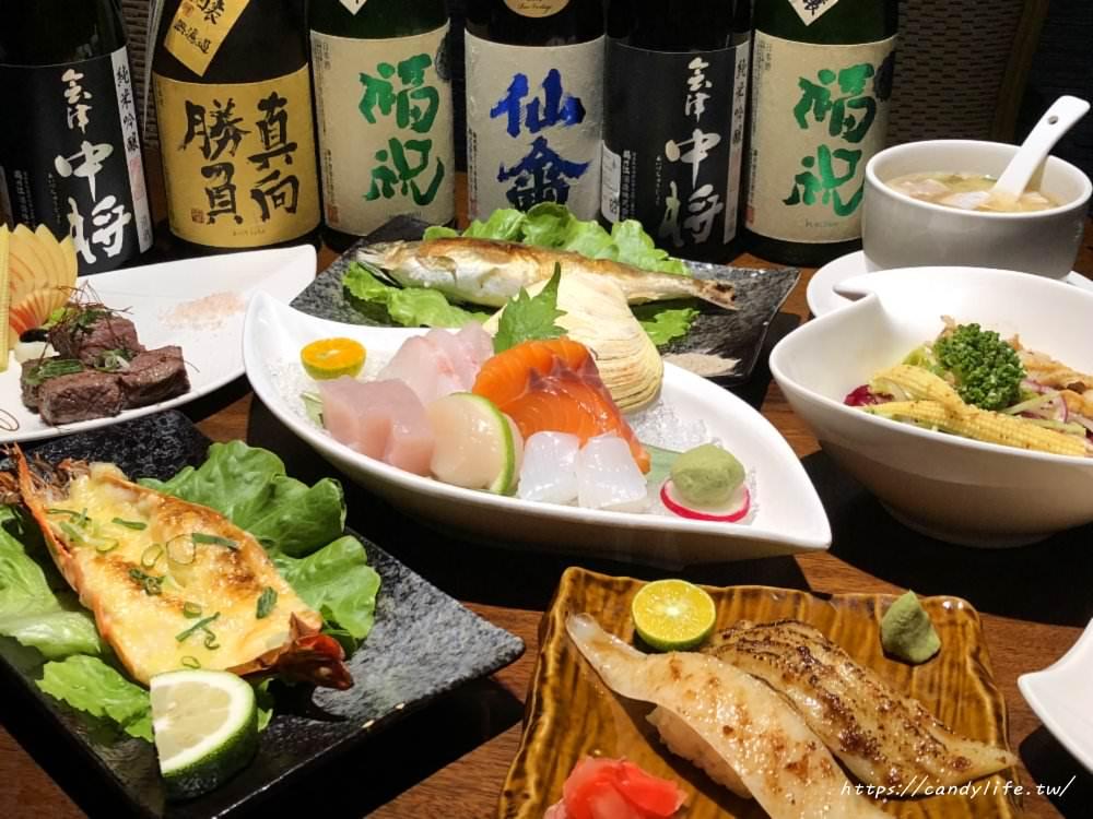 台中美食│本 握壽司 御選頂級日式料理〃女兒紅婚宴會館旁,低調又神秘的無菜單料理~