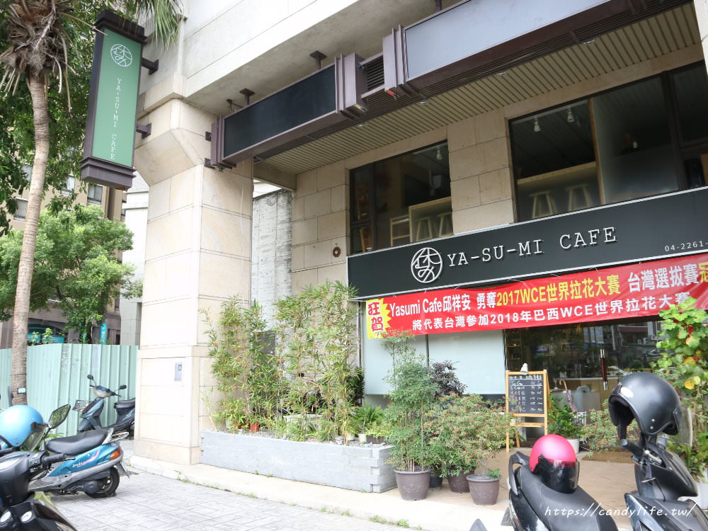 20180524224312 49 - 抹茶控必訪Yasumi cafe!還有超好吃的麻糬鬆餅唷~