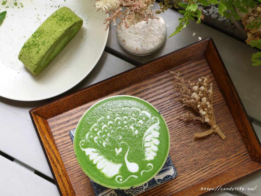 台中美食│Yasumi cafe〃咖啡拉花超強大!還有超好吃的麻糬鬆餅~