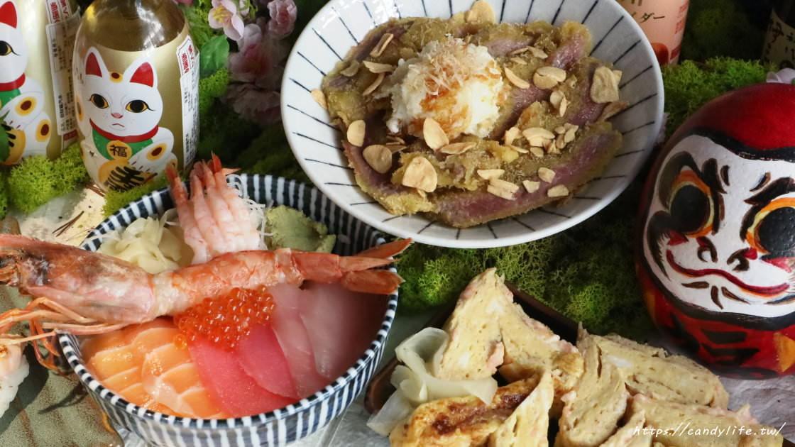 台中美食│心丼食堂〃嶺東學區平價日式料理!還有白飯、飲料、味噌湯讓你免費吃到飽~