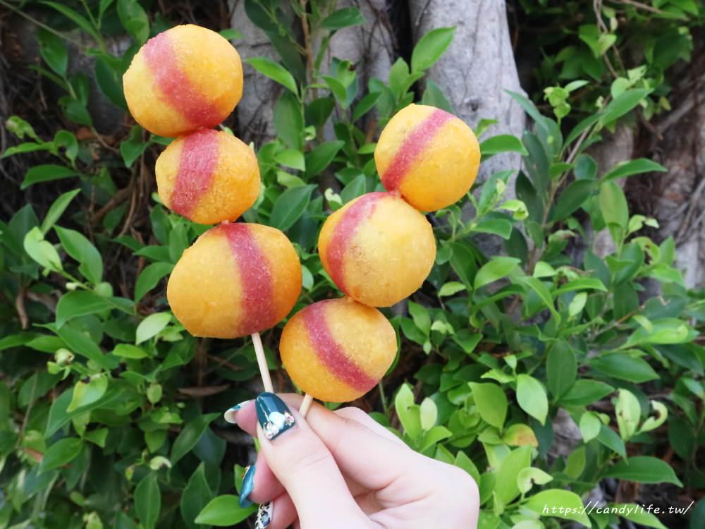 20181025183310 26 - 一開賣就大排長龍的小8三色地瓜球,酥脆又大顆~