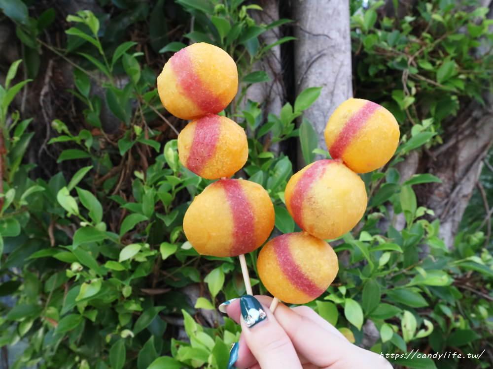 20181025183411 66 - 一開賣就大排長龍的小8三色地瓜球,酥脆又大顆~