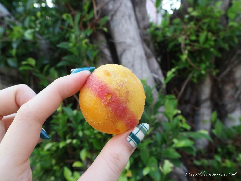 20181025183414 45 - 一開賣就大排長龍的小8三色地瓜球,酥脆又大顆~