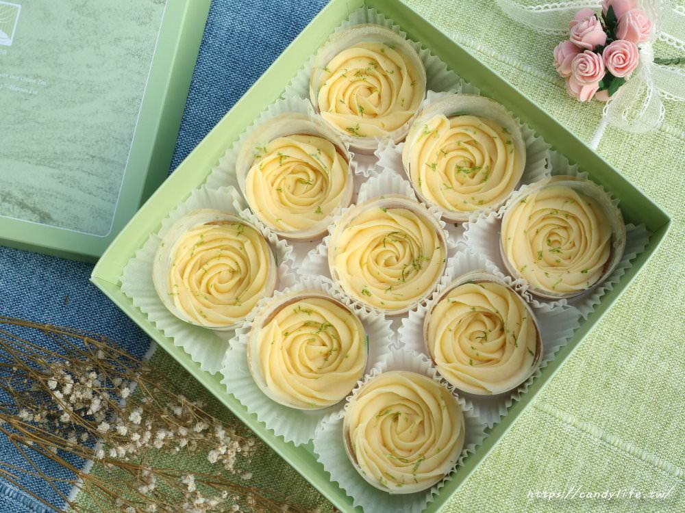 台中美食│Cream Tea〃台中超夯玫瑰造型檸檬塔,現場買不到,預訂一等就是半年!