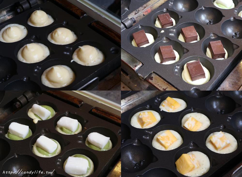 20190411224558 11 - 熱血採訪│滾滾燒雞蛋糕〃圓滾滾像章魚燒的可愛雞蛋糕,顆顆大爆漿,口味超多可以選擇~
