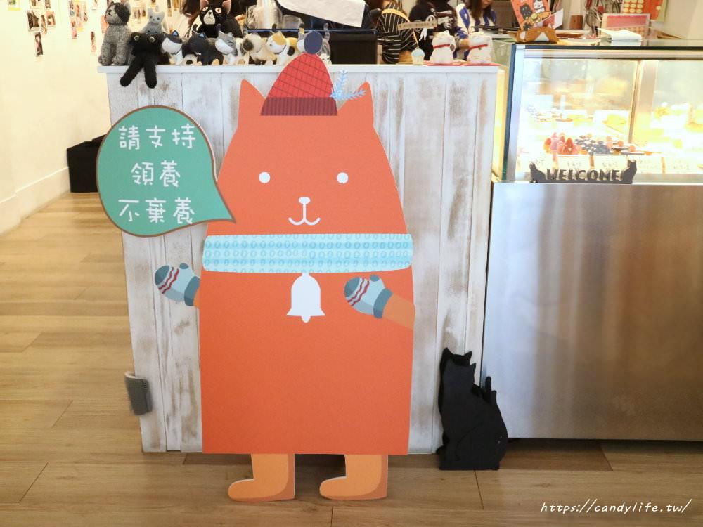 20190419230917 51 - 結合貓咪中途之家的甜點店,甜點好吃,還有可愛的貓咪作伴~
