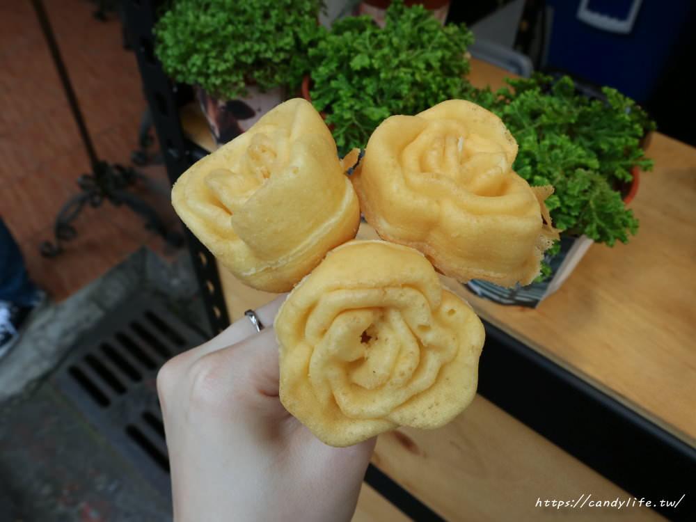 20190426175642 76 - 南屯也出現玫瑰花雞蛋糕!還有綠豆沙牛奶口味雞蛋糕,近萬和宮~