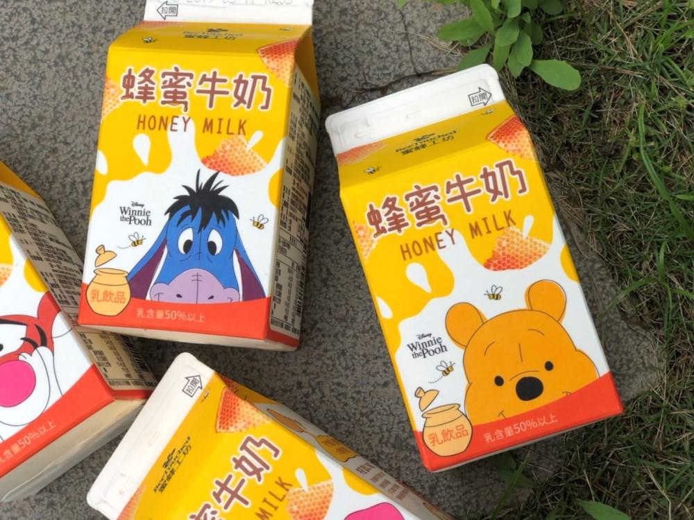 """20190507131731 83 - 7-11獨賣""""小熊維尼蜂蜜牛奶"""",4款角色包裝超吸睛!全台限量,跑了9間才買齊~"""