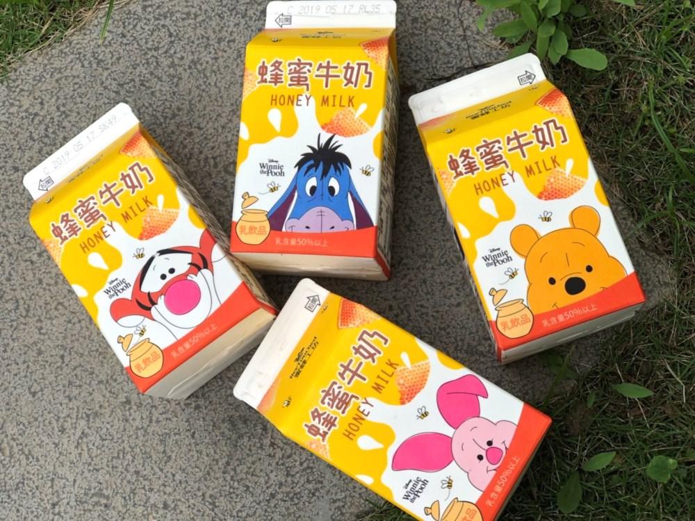 """20190507131733 85 - 7-11獨賣""""小熊維尼蜂蜜牛奶"""",4款角色包裝超吸睛!全台限量,跑了9間才買齊~"""