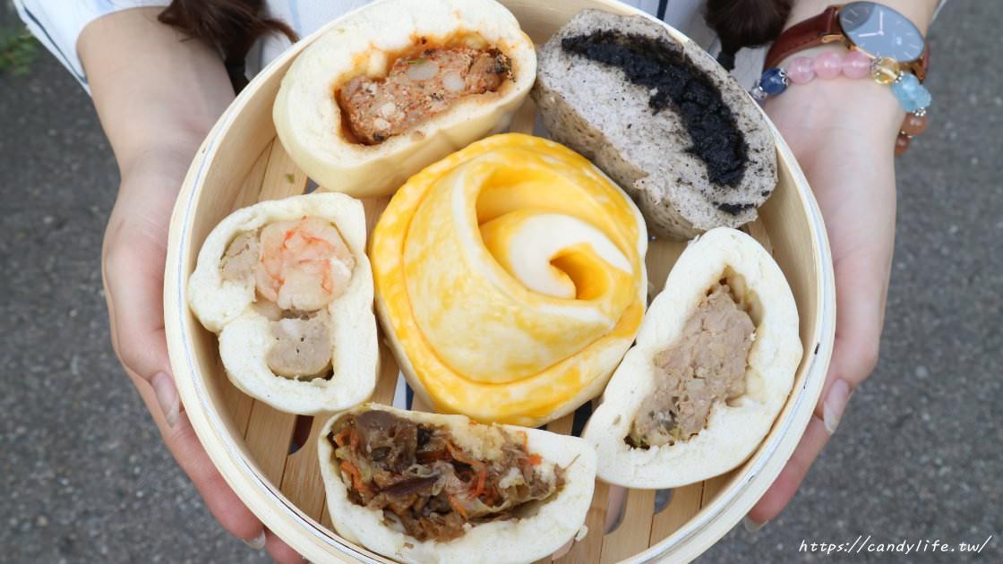 頂金台港鮮肉包│台中人氣包子店,老闆是型男!口味創新,竟然還有川辣臭包子!