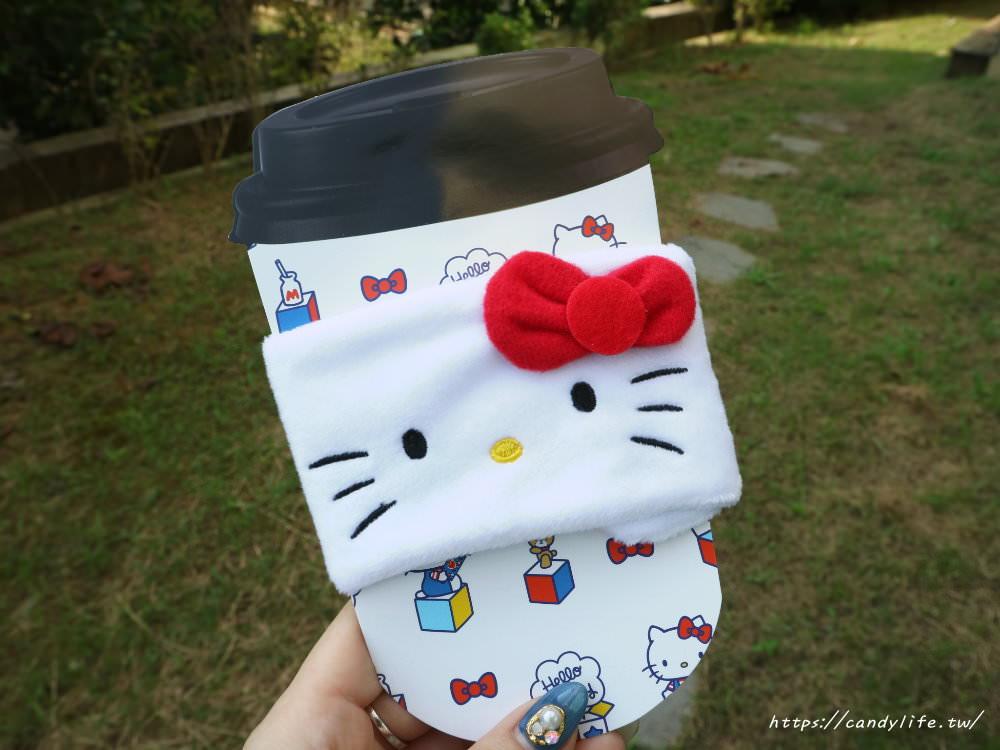 20190911143503 24 - Kitty控快來!全家便利商店推出「Kitty毛絨杯套」10元加購,還有Kitty飲料提袋,9/11開賣,售完為止!