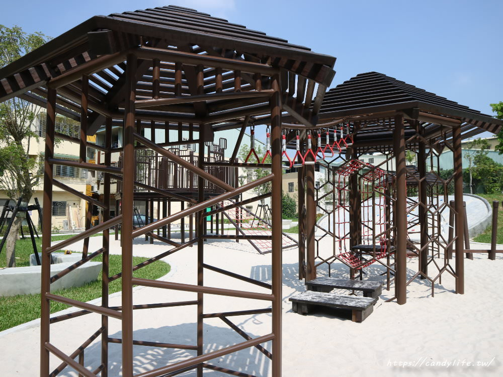 20190911151853 94 - 台中首座「蜂巢」遊具公園在這裡!蜂巢設計意象,打造12感官式遊具~