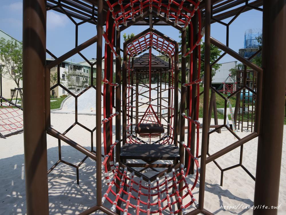 20190911151855 90 - 台中首座「蜂巢」遊具公園在這裡!蜂巢設計意象,打造12感官式遊具~
