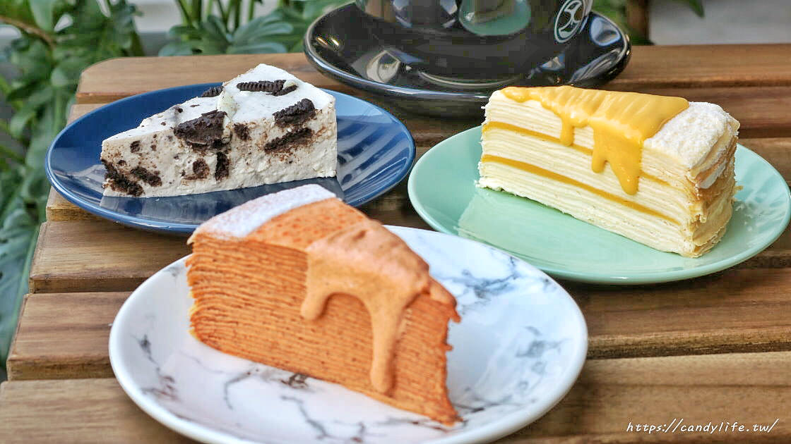 Cuppa VV Cafe│店裡頭都是型男的質感咖啡館,主打千層蛋糕及生乳酪,還有輕食套餐~