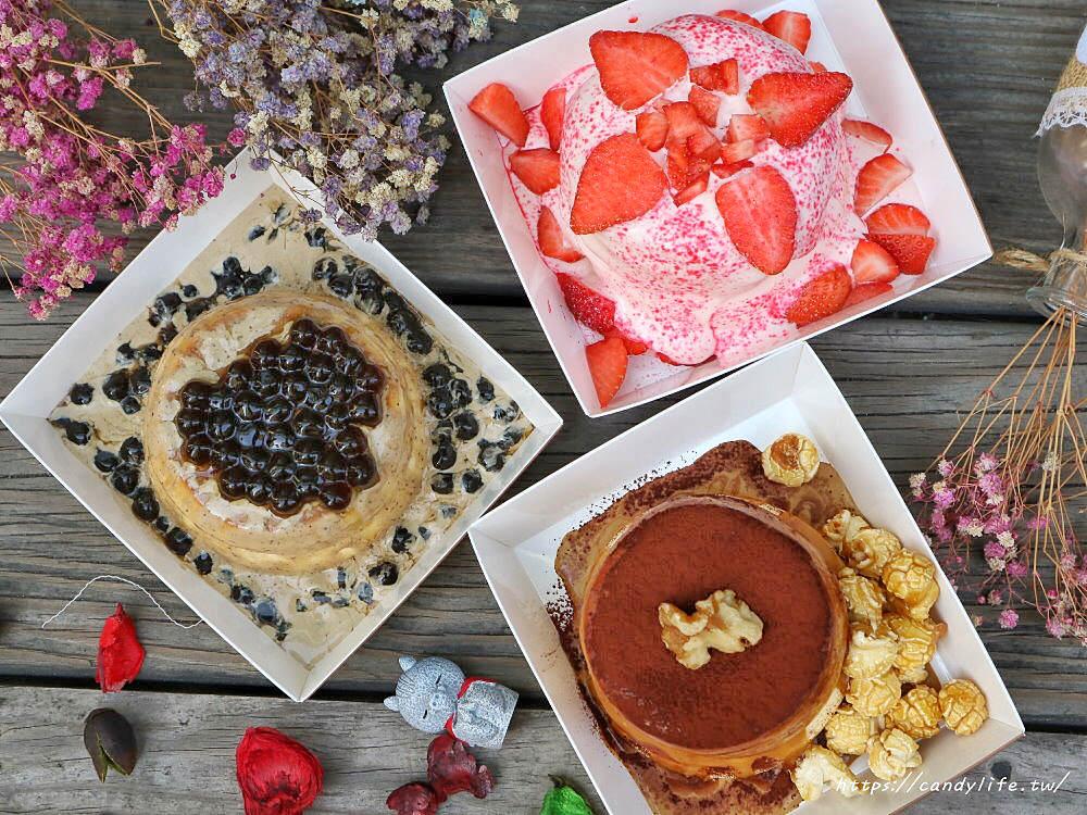 20200223190547 94 - 熱血採訪│可以邊走邊吃的舒芙蕾,配料加量不加價,期間限定草莓舒芙蕾倒數計時中