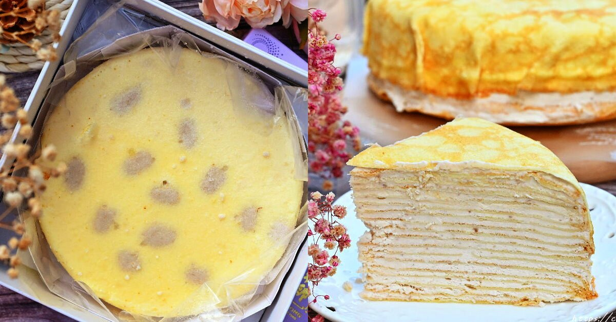 阿聰師的糕餅主意 芋頭控必吃!超厚實芋頭千層蛋糕,取用在地食材,真材實料,吃的到新鮮大甲芋頭,價格親民,母親節蛋糕首選~